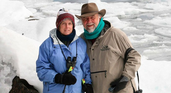 Kate Crowley and Mike Link will begin a five-month-long journey around Lake Superior starting this Thursday. Their goals include raising awareness about freshwater issues and assisting with Lake Superior research.