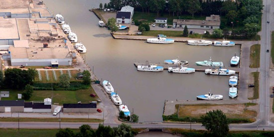 Lake Erie's Wheatley Harbour