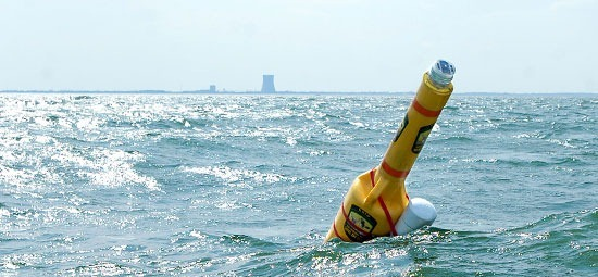 """This water quality monitoring buoy will help biologists study changes in walleye populations in Lake Erie. The lake is known by many as the """"walleye capital of the world."""""""