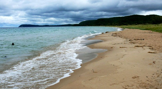 Lake Michigan's Good Harbor Beach