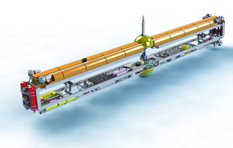 unmanned antarctic submarine