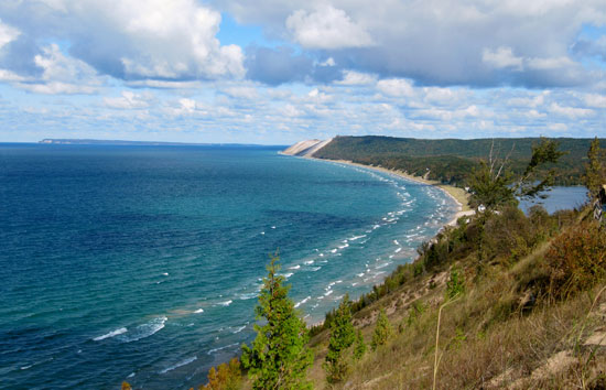 """Dr. Beach"" named Lake Michigan's Sleeping Bear Dunes as the top Great Lakes beach."