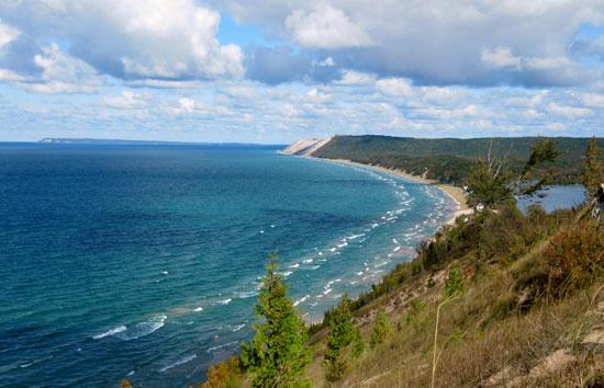 """Dr. Beach"" named Lake Michigan's Sleeping Bear Dunes as the top Great Lakes beach."
