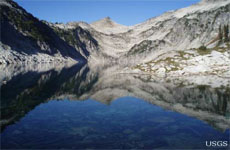 Even pristine lakes show evidence of humans