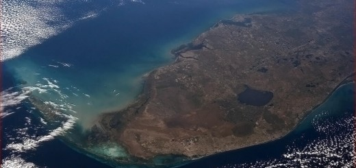 Lake Okeechobee from the International Space Station