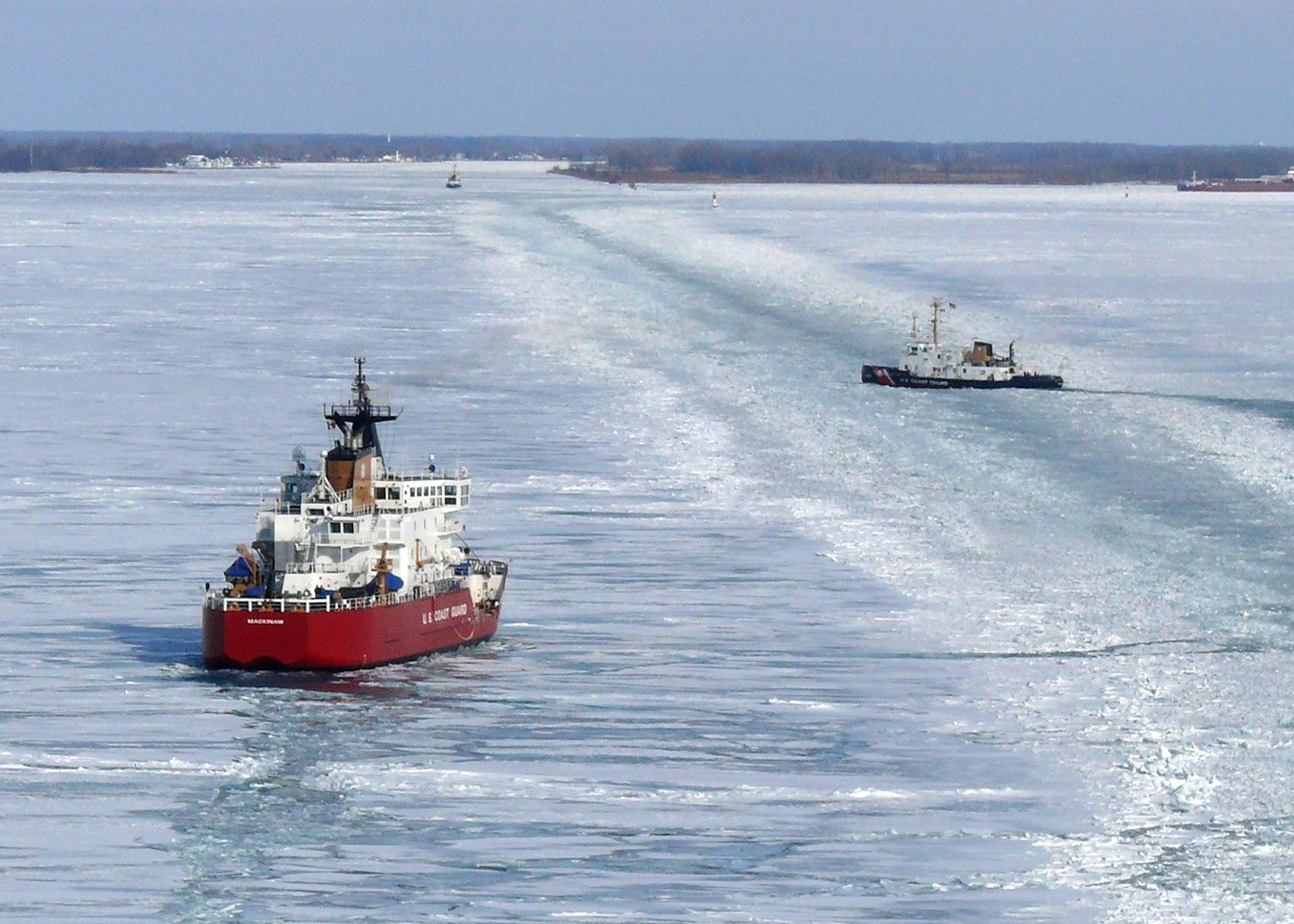 U.S. Coast Guard Ship Mackinaw