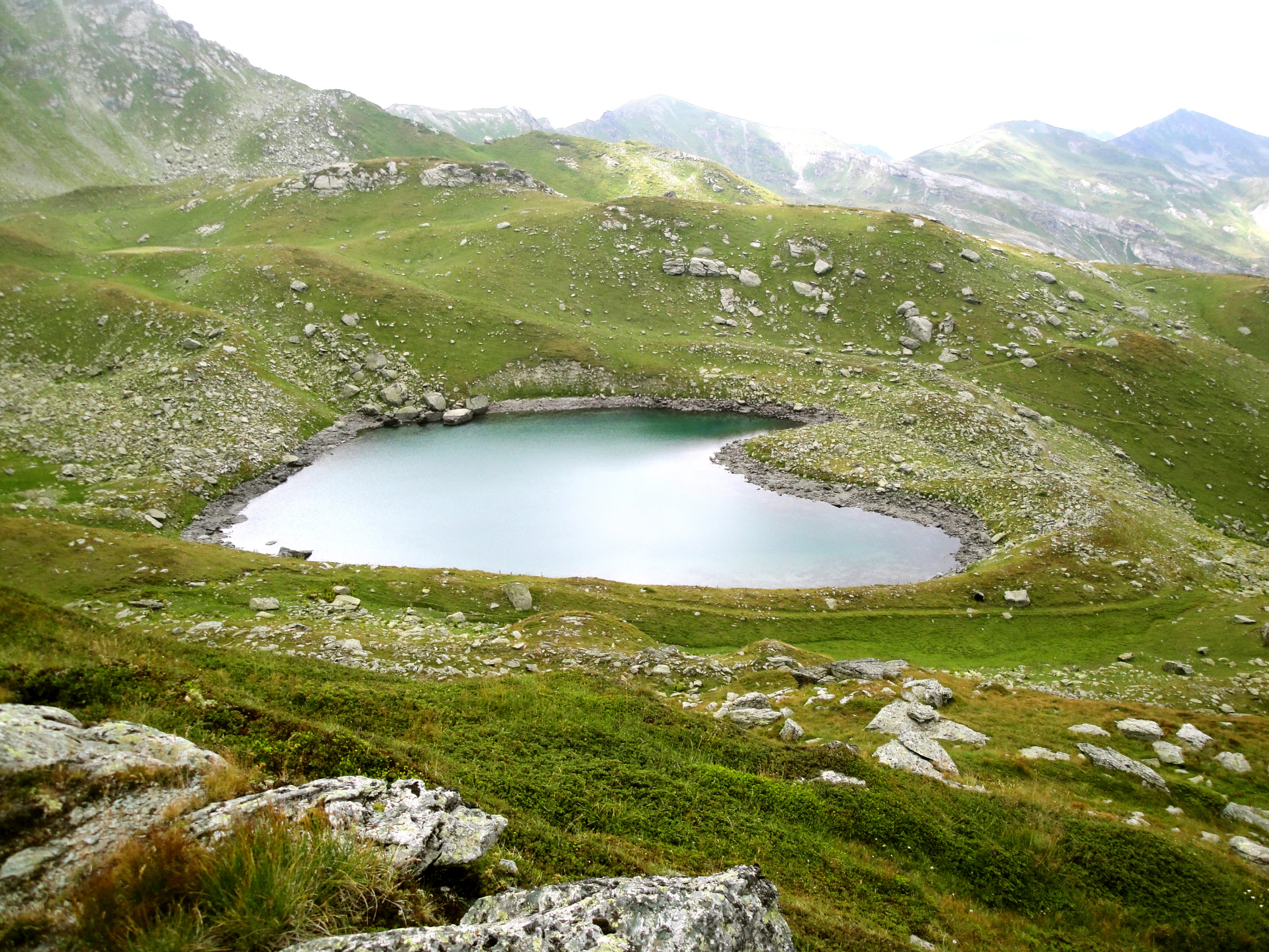 heart lakes Green lake Zemra lake