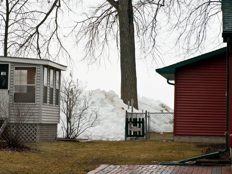 Ice Shove Lake Winnebago