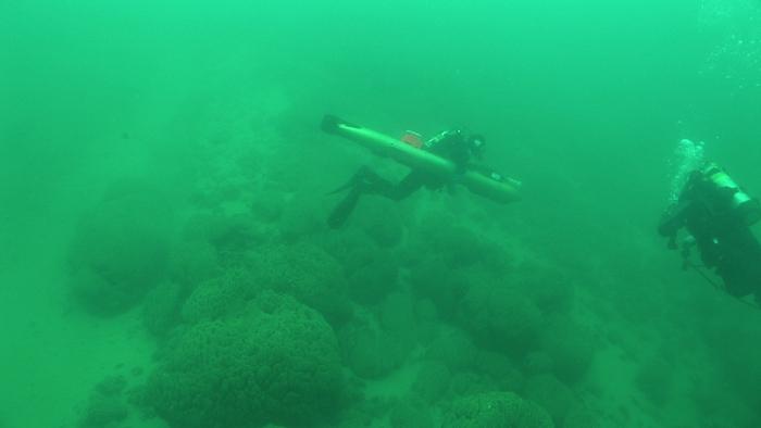 pavilion lake submersible UAV