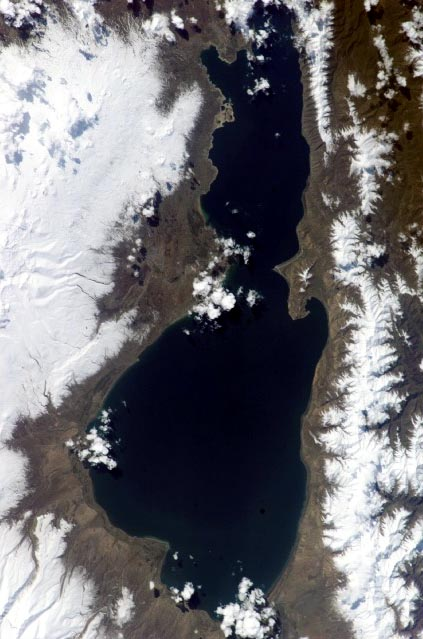 alpine lakes Lake Sevan