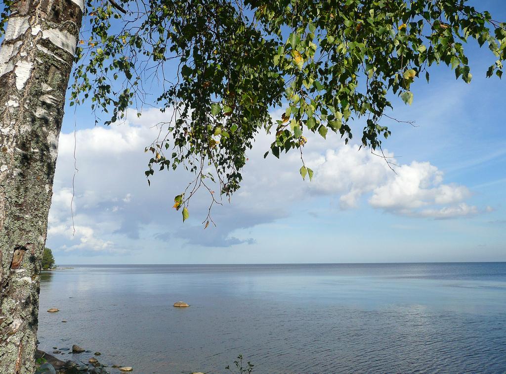 russia lake ladoga shore