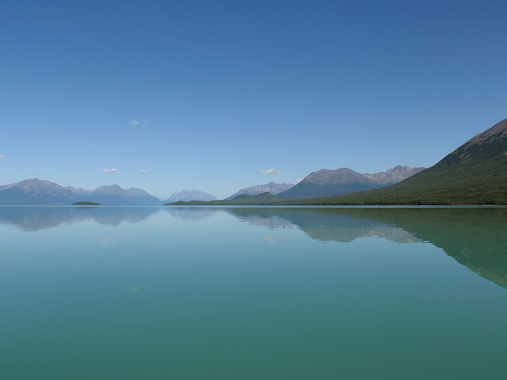 pristine lakes contain mercury Alaska Lake Clark