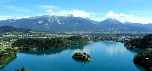 glacial lakes / lake bled