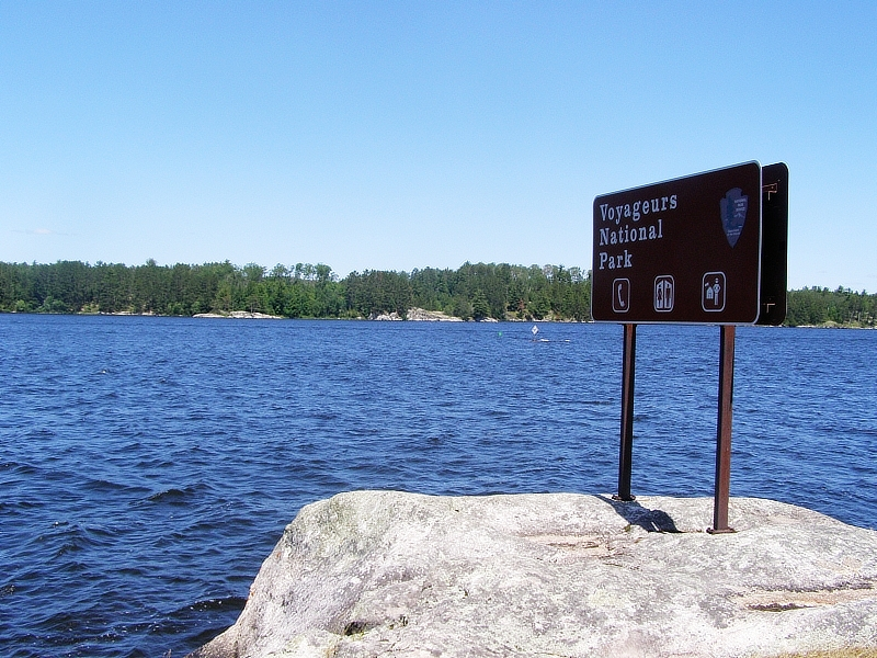 mercury levels in minnesota lakes / Voyageurs National Park