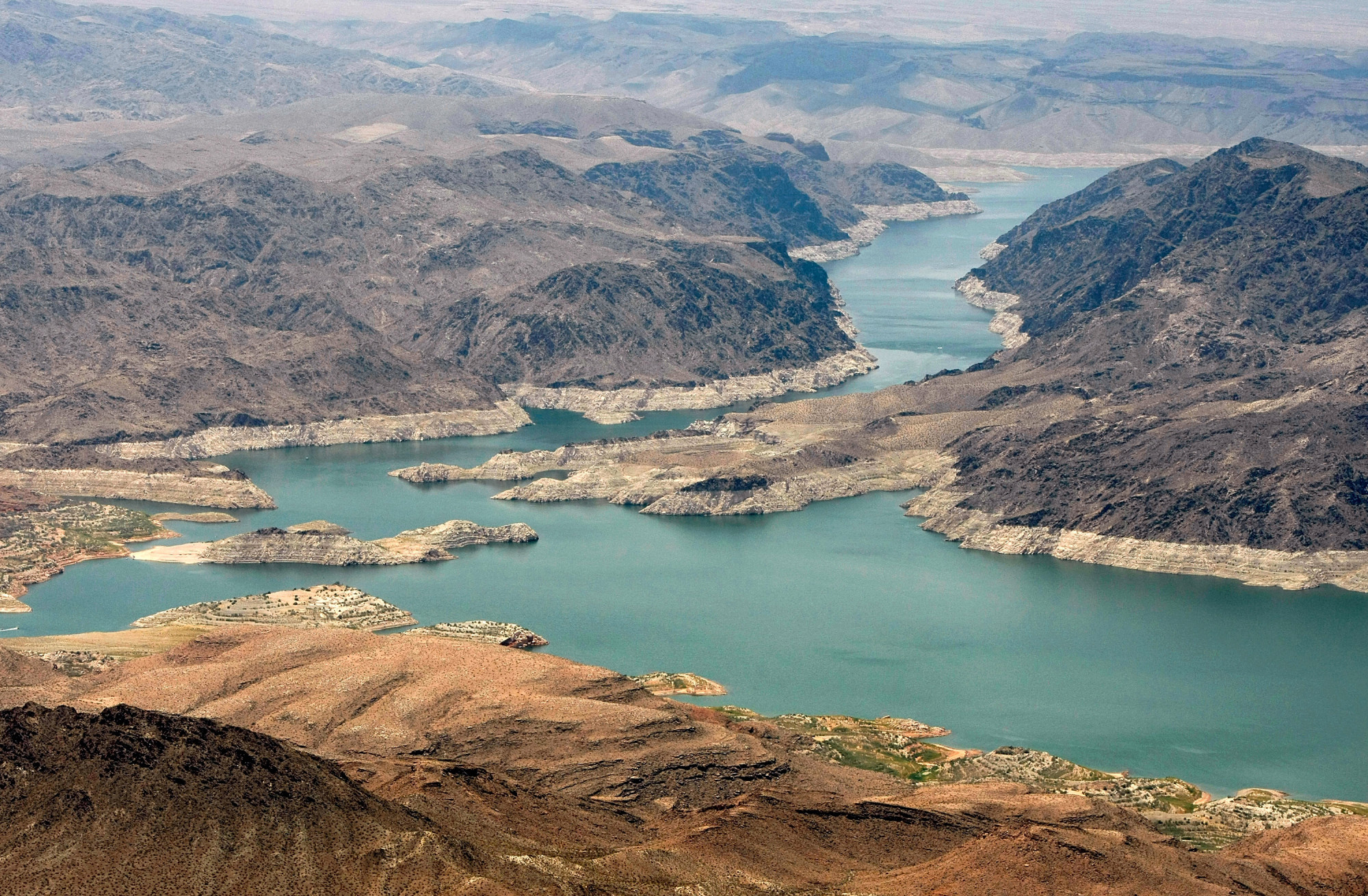 Lake Mead Water Levels Down 30 Feet Since February - Lake ...