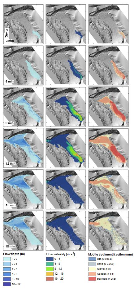 maps_GLOF_flow_depth_and_velocity