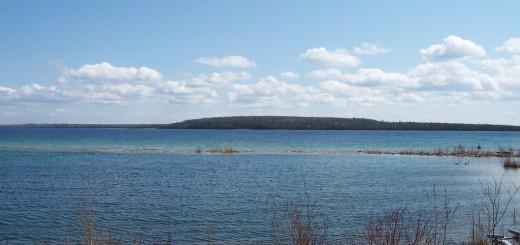 lake huron sinkholes