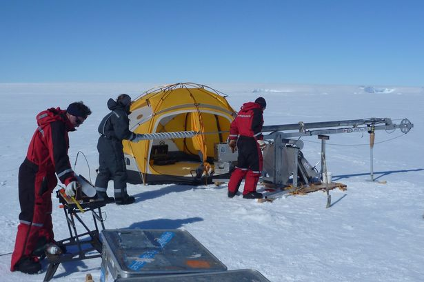 antarctic melt water aberystwyth larsen ice shelf