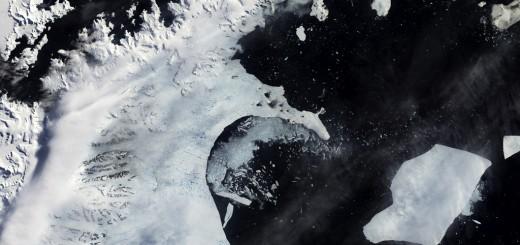antarctic melt water larsen shelf