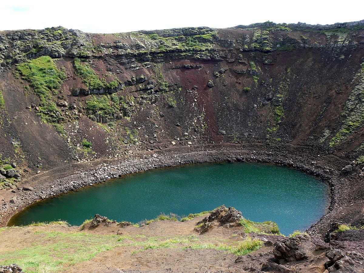 Kerid Crater Lake. (Credit: Christian Bickel via Creative Commons 2.0)
