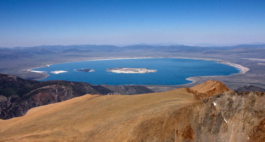 Mono Lake from Mount Dana