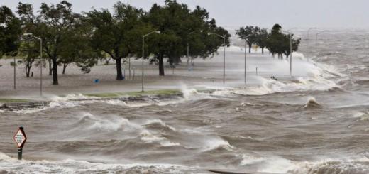 storm surges lake pontchartrain